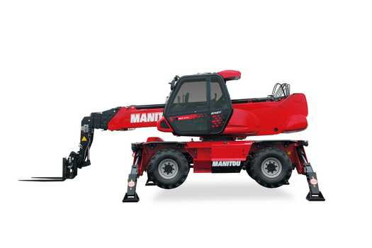 Manitou MRT2470 Roterende verreikers